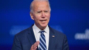 Joe Biden, le 10 novembre 2020 à Wilmington, dans le Delaware