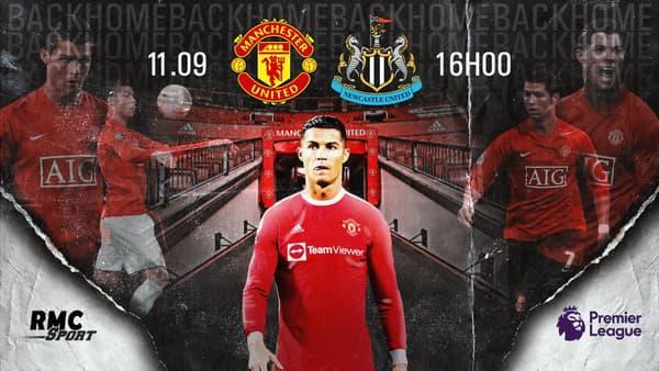 Le retour de Cristiano Ronaldo à suivre sur RMC Sport 2