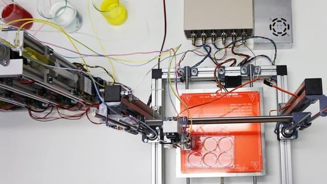 La bio-imprimante 3D qui fabrique de la peau humaine parfaitement fonctionnelle.