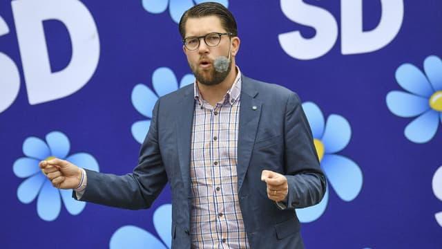 Jimmie Åkesson, leader du parti Les Démocrates de Suède