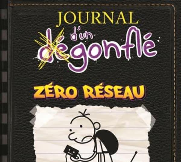 """""""Journal d'un dégonflé - Zéro Réseau"""" (tome 10) de Jeff Kinney"""