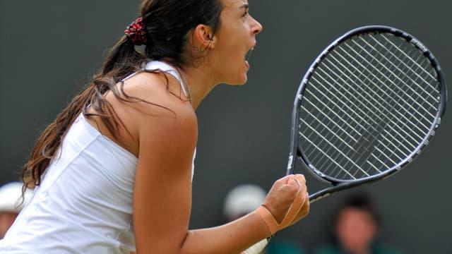 Marion Bartoli retrouve les quarts de finale de Wimbledon comme en 2007