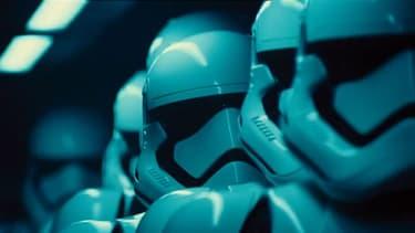 Une image de la bande annonce de Star Wars: Episode VII.