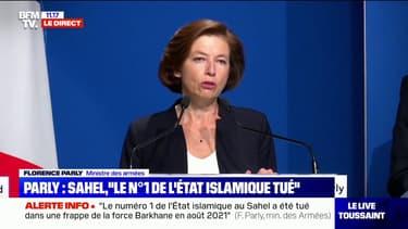 """Florence Parly: """"L'Etat islamique au Grand Sahara (EIGS) a été responsable de la mort de 2000 à 3000 civils depuis 2013"""""""