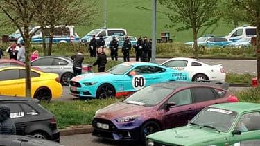 Ce jeudi, la police allemande a mis fin à l'Eurorally, un rassemblement de supercars venues de Norvège. La centaine de bolides roulait à plus de 250 km/h.