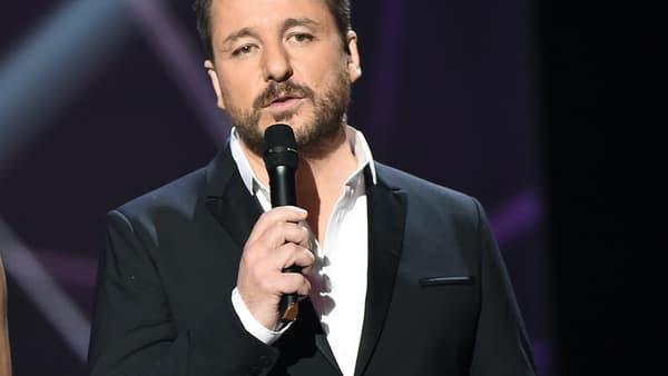 Bruno Guillon a animé les Victoires de la musique, en février 2017, avec Virginie Guilhaume.