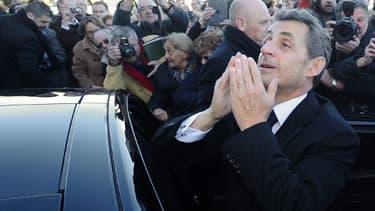 Nicolas Sarkozy à Châtelaillon-Plage le 29 janvier 2014