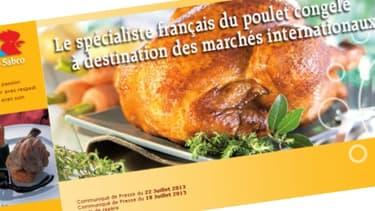 Le volailler Tilly-Sabco produit 64.000 tonnes de poulets congelés par an et dépend fortement des aides européennes.