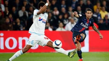 Le PSG est équipé par Nike, tandis que son rival marseillais joue en Adidas.