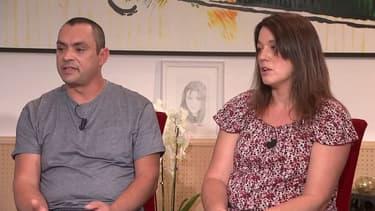 Le père et la mère de Maëlys, en août 2018