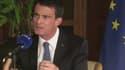 Manuel Valls mardi 24 mai, lors d'un déplacement en Israël.
