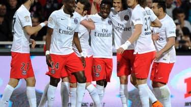 Le PSG s'est assuré de décrocher le cinquième titre de champion de France de son histoire.