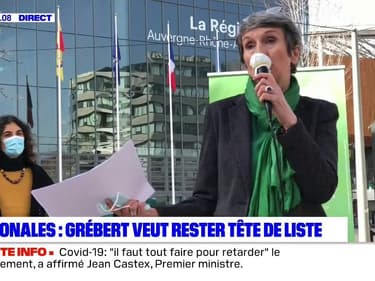 Régionales : Fabienne Grébert (EELV) veut rester la tête de liste en cas d'union de la gauche