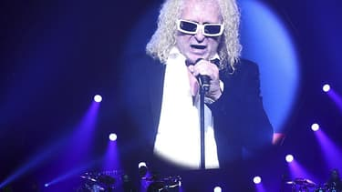 Michel Polnareff en concert à Nice le 8 novembre 2016.