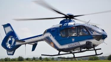 Photo d'illustration - Hélicoptère de la gendarmerie