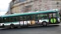 Un bus public à Paris, le 17 janvier 2010. (illustration)