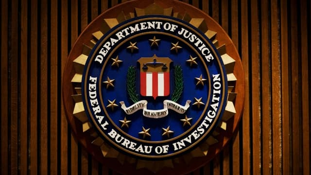 Le logo de la police fédérale américaine (FBI)  (photo d'illustration)
