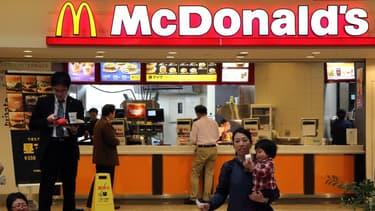Les ventes de McDonald's ont été affaiblies par plusieurs scandales alimentaires