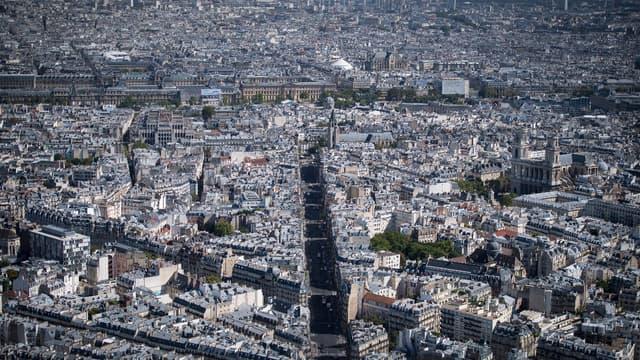 Le marché parisien est en baisse.