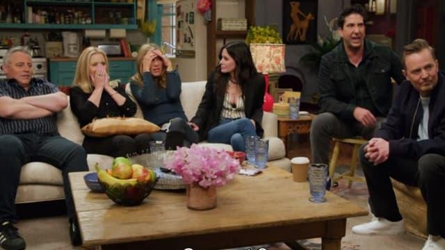 Les acteurs de Friends dans l'épisode spécial le 27 mai 2021.