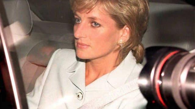 Lady Diana en 1996, au moment de son divorce d'avec le  prince Charles.