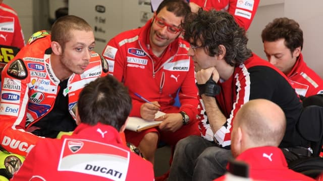 Valentino Rossi est 4e au classement du Mondial