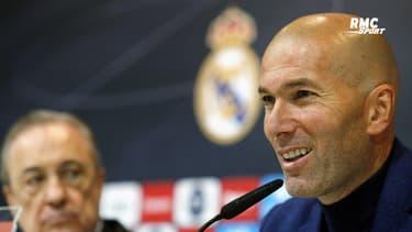 Real Madrid : Perez souhaite continuer avec Zidane comme entraîneur