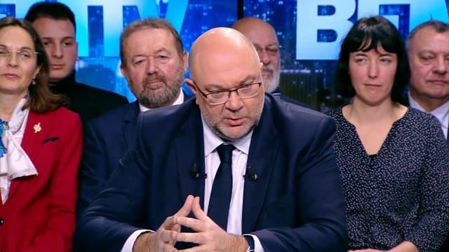Stéphane Travert, le ministre de l'Agriculture.