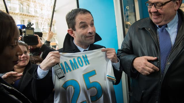 Benoît Hamon supporter de l'OM