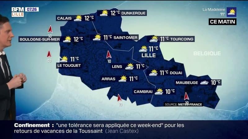 Météo: de belles éclaircies ce samedi avec des températures élevées pour la saison, jusqu'à 16°C à Lille