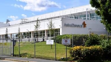 Une usine AstraZeneca située à Liverpool, au nord-ouest de l'Angleterre. (Photo d'illustration)