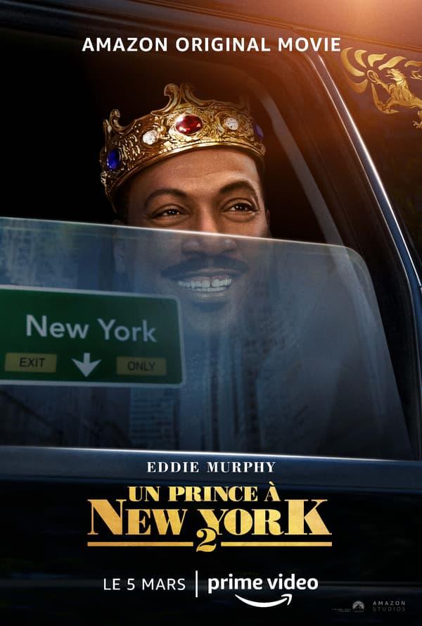 """Affiche d'""""Un Prince à New York 2"""", la nouvelle comédie d'Eddie Murphy"""