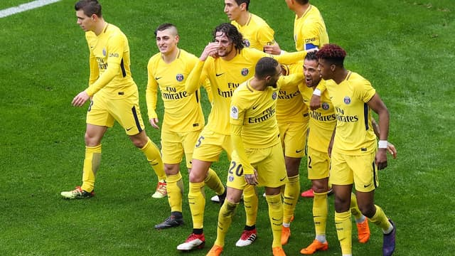 Les joueurs parisiens