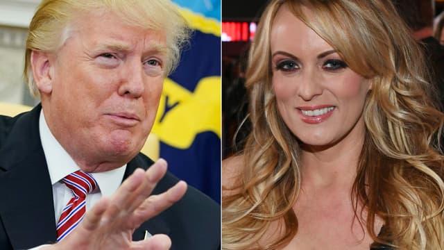 Donald Trump nie avoir eu une relation avec l'ancienne actrice porno.