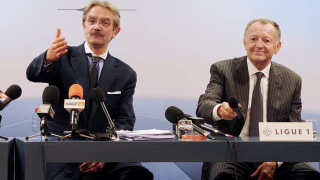 Frédéric Thiriez et Jean-Michel Aulas