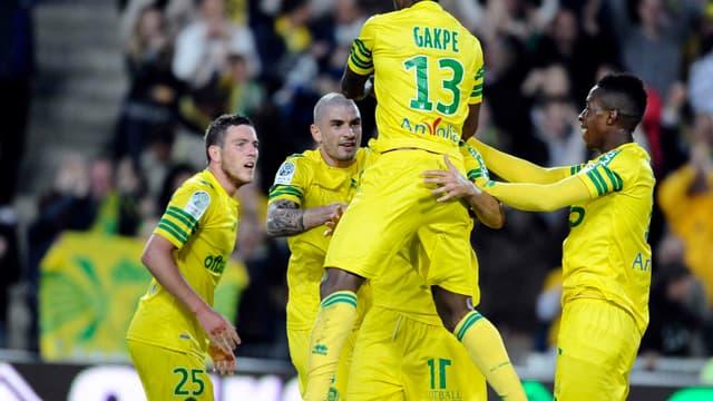 Nantes-Sedan : Serge Gakpé