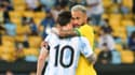 Neymar et Messi lors de la finale de la Copa America