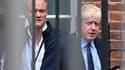 Dominic Cummings et Boris Johnson en septembre 2019.