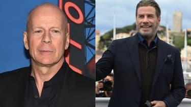 Bruce Willis, John Travolta