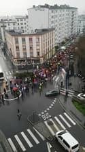 Mobilisation contre la réforme des retraites à Brest - Témoins BFMTV