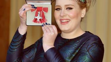 La chanteuse Adele, en décembre 2013 à Londres.