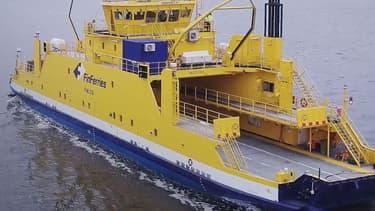 Le ferry Falco a utilisé des technologies de Rolls-Royce Ship pour naviguer de manière autonome dans l'archipel finlandais, au sud de de la ville de Turku.