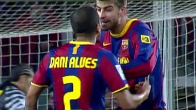 Pique et Alves