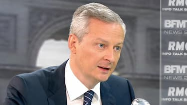 Bruno Le Maire était l'invité de BFMTV le 23 juillet 2015