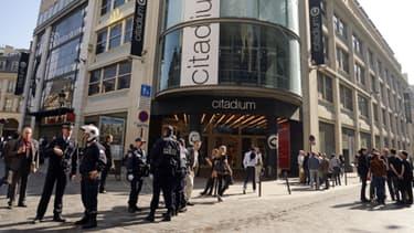 C'est ici qu'a eu lieu mercredi l'agression, vers 18 heures, dans Paris.