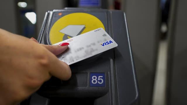 Les cartes bancaires sont déjà utilisées à Londres comme titre de transport.