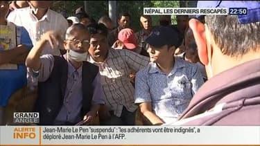 Népal: les derniers rescapés du séisme