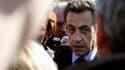 Seul un Français sur trois souhaite que Nicolas Sarkozy soit de nouveau candidat à l'élection présidentielle en 2012, selon un sondage Ipsos réalisé les 19 et 20 mars pour Le Point et publié lundi. /Photo prise le 16 mars 2010/REUTERS/Rémy de la Mauvinièr