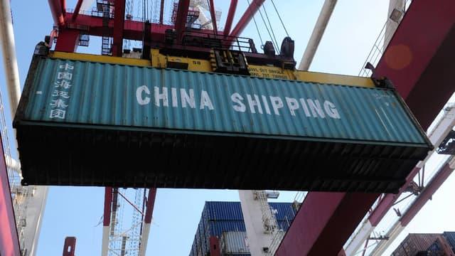 La Chine a vu ses échanges se modérer et son excédent commercial gonfler en juillet. (image d'illustration)
