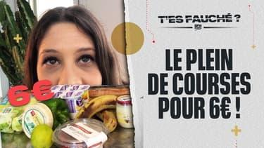 T'es Fauché ? – Remplir son frigo pour 6 euros